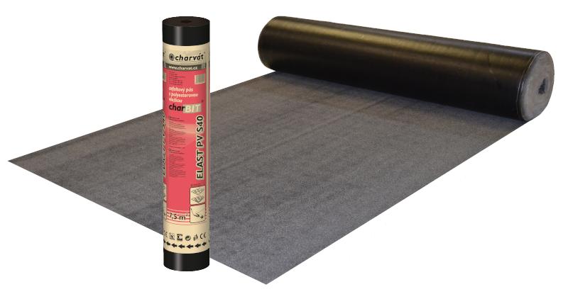 Modifikovaný asfaltový pás charBIT® ELAST PV S40