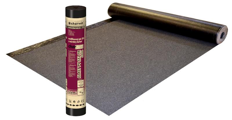 Modifikovaný asfaltový pás charBIT® ELAST PV S52 FR FINAL