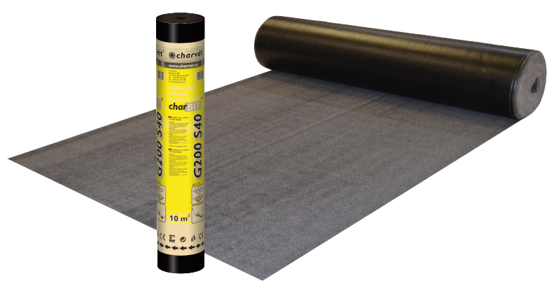 Oxidovaný asfaltový pás charBIT® G200 S40