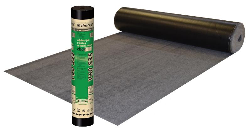Oxidovaný asfaltový pás charBIT® V60 S35