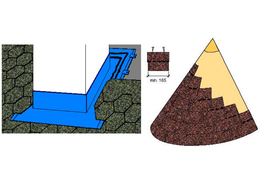 Střešní detaily – Jak položit střešní šindel