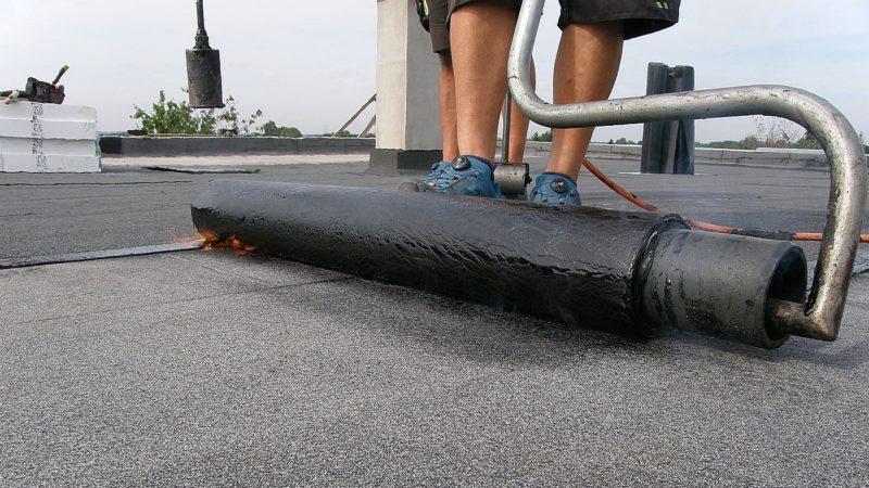 Svařování asfaltových pásů