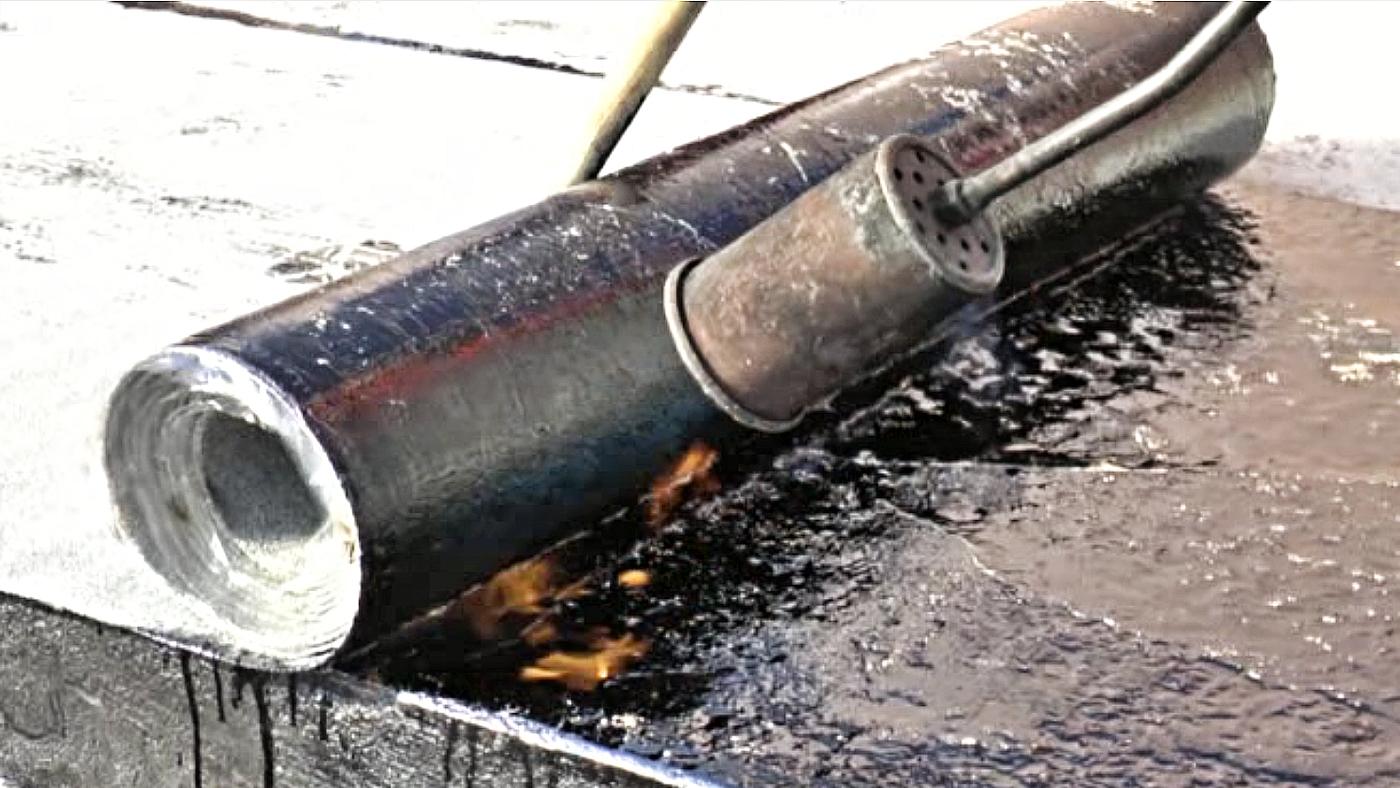 Jak pokládat asfaltové pásy