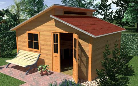 Střešní krytina na zahradní domek, altán nebo pergolu