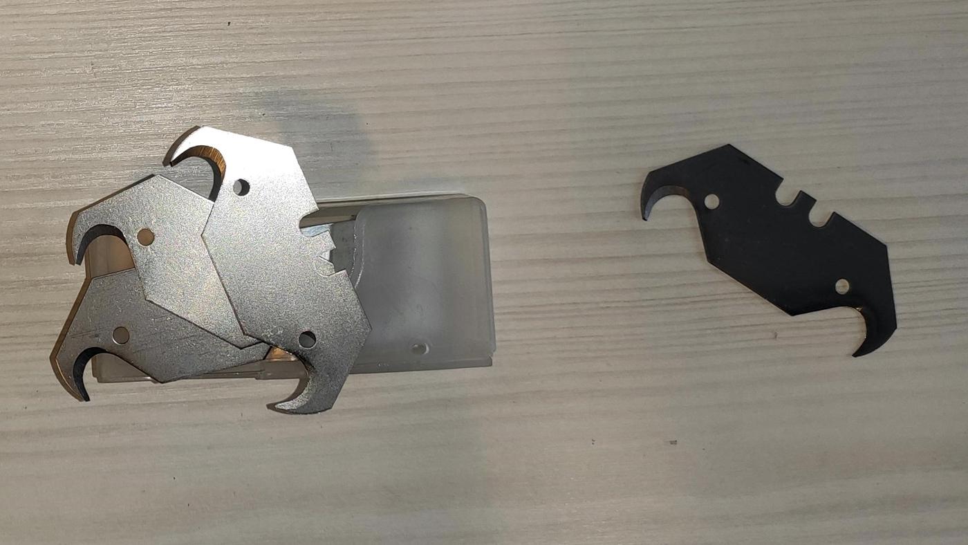 Čepele pro nůž na řezání asfaltových pásů