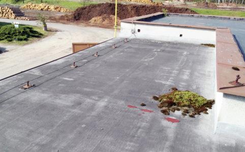 Údržba asfaltových střech