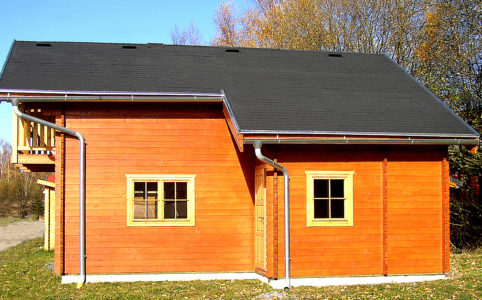 Sklon střechy pro asfaltový šindel