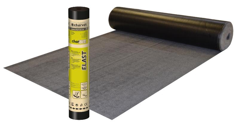 charBIT® ELAST AL V S40 – Modifikovaný SBS asfaltový pás s hliníkovou vložkou