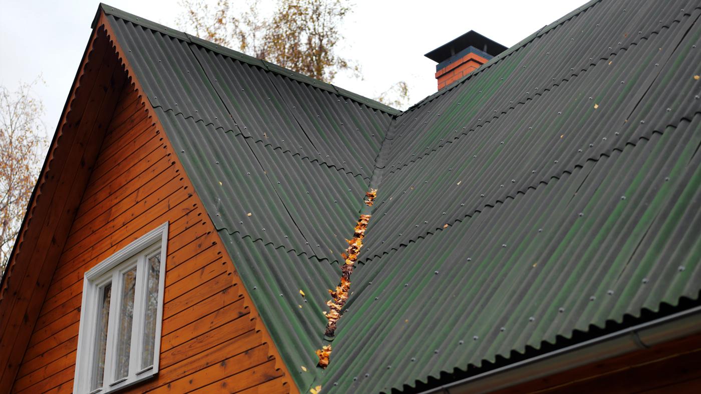 Asfaltová střešní krytina – asfaltová deska